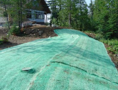 Erosion Control Blanket With Grass Seed Millborn Seeds