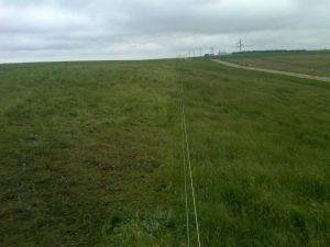 field along road