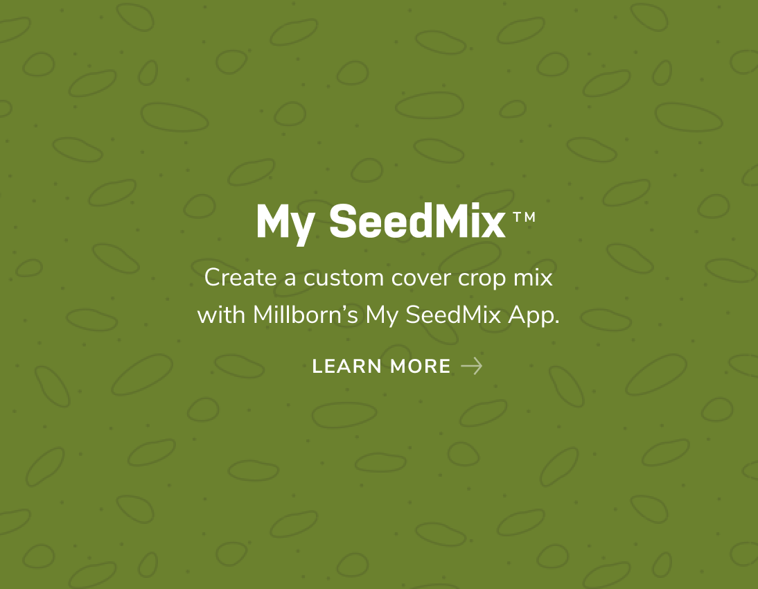 create a custom cover crop mix with My SeedMix